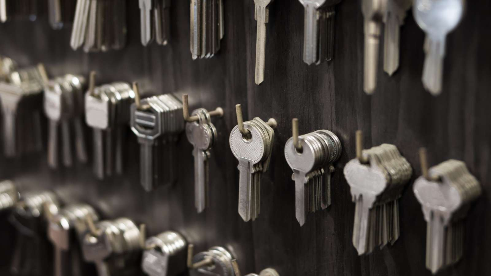 Keys that are ready to be cut